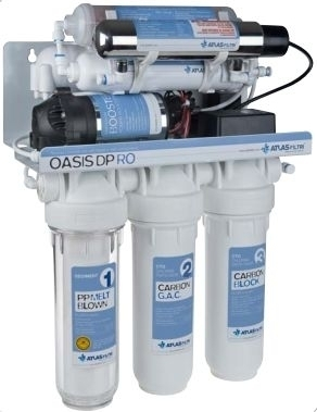 Atlas Filtri Oasis DP RO Pump UV
